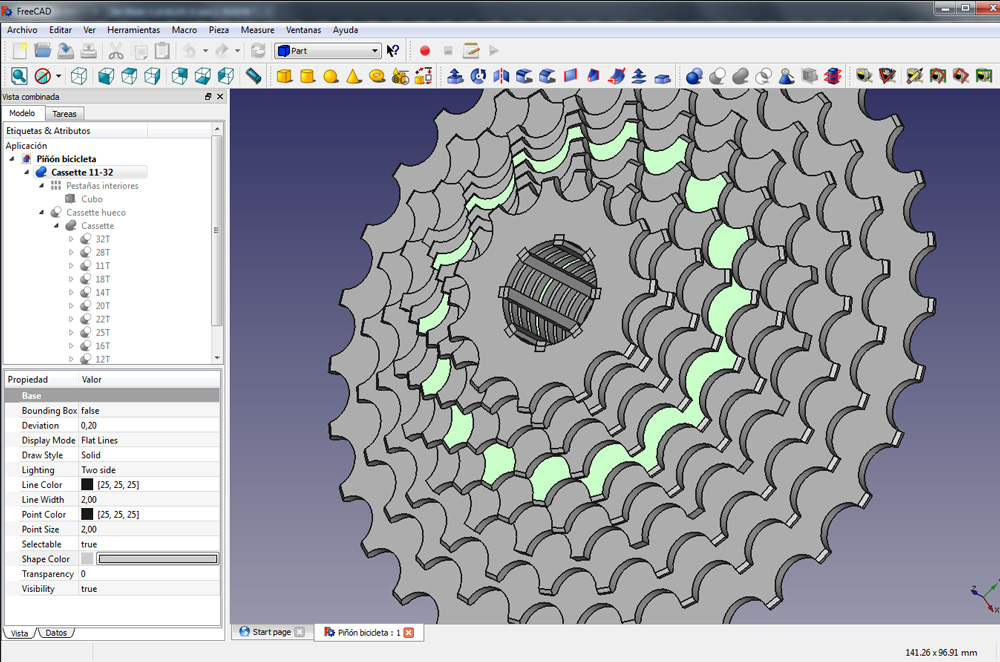 Freecad importando piezas en stl diwo for Cad 3d free italiano