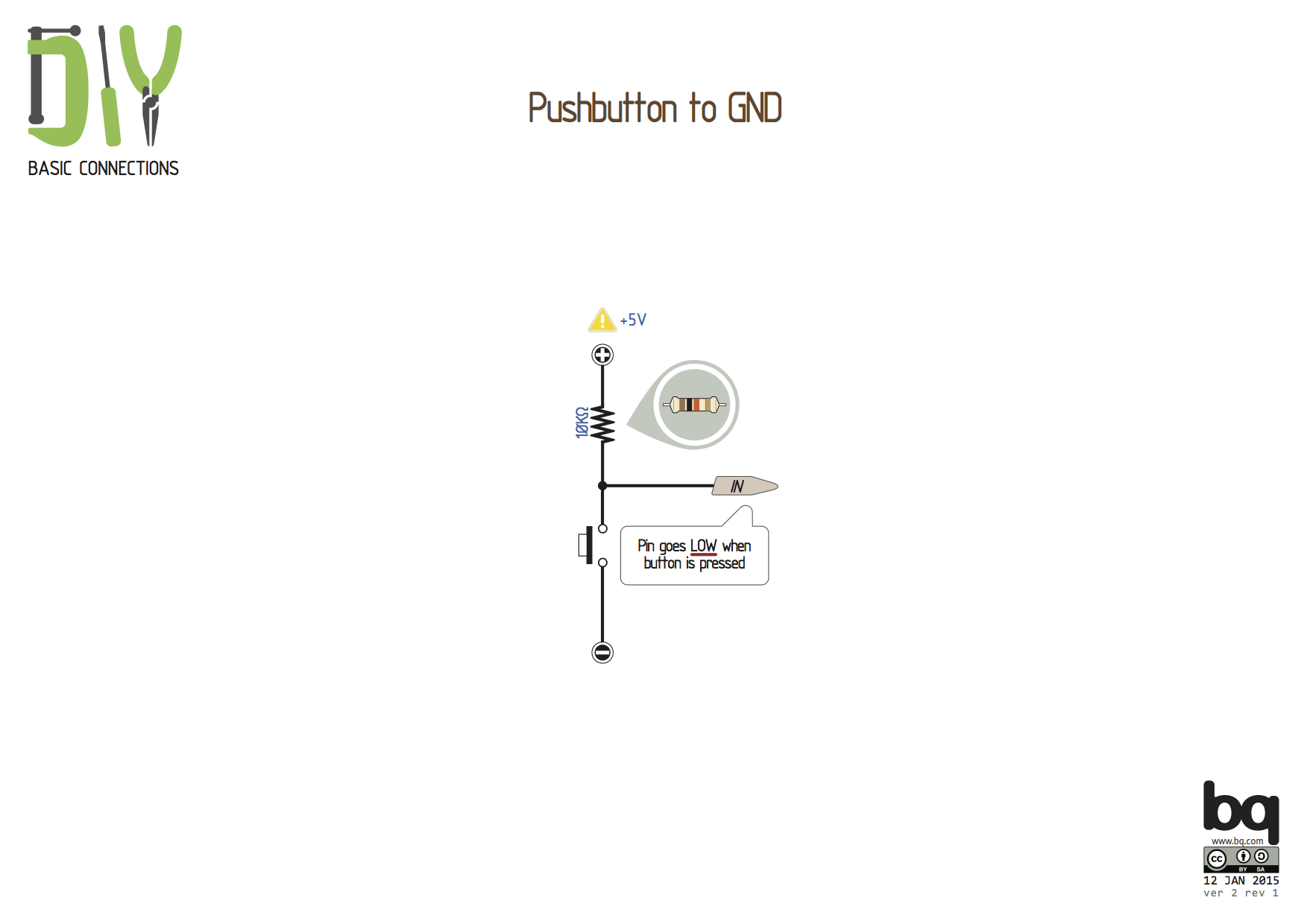 The While Loop And Push Button Diwo Switch Together With Wiring Diagram On Here Signal Pin Will Have 0 Volts When Is Pressed So How Do We Program It In Arduino Lets Assume That Next Component Connection