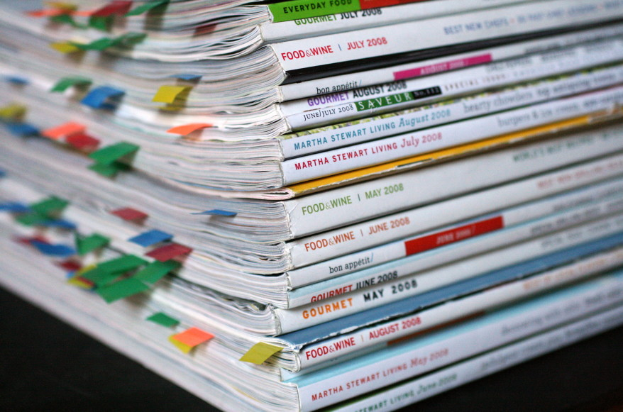Magazine Stack by galant, thebittenword.com, on Flickr